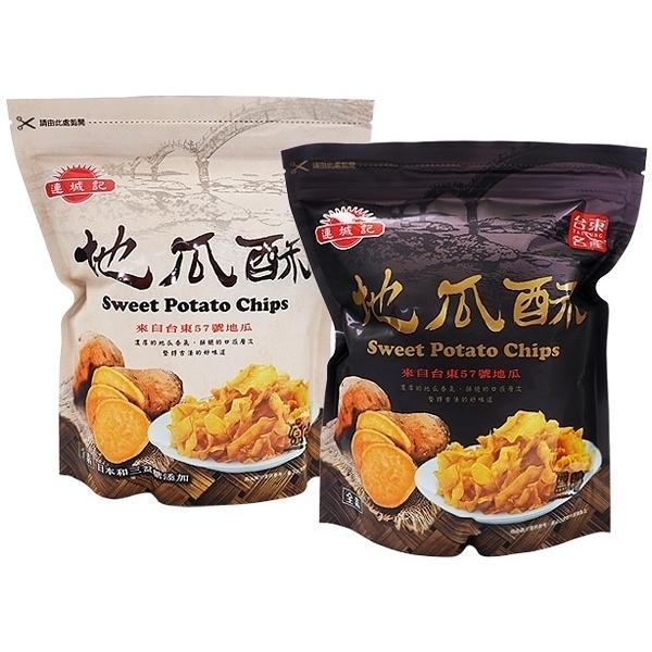 連城記 地瓜酥(140g) 原味/黑糖 款式可選【小三美日】
