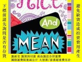 二手書博民逛書店Nice罕見and MeanY362136 Jessica Leader Aladdin (June 8, .