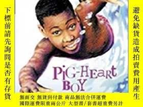 二手書博民逛書店Pig-heart罕見Boy (Cascades) New ed