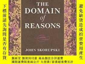 二手書博民逛書店The罕見Domain Of ReasonsY255174 Jo