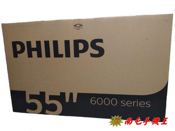 ←南屯手機王→ PHILIPS飛利浦 4K UHD 55型智慧型顯示器 55PUH6052+視訊盒 【宅配免運費】
