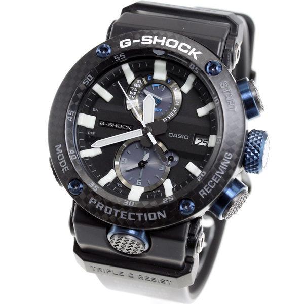 卡西欧手表 casio G-shock 太阳能电波手表 GWR-B1000-1A1JF 男表 碳纤维表圈 新款 时尚经典