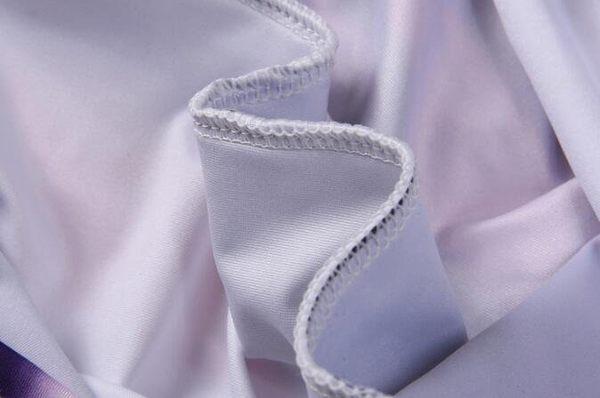 日系流行時尚大翅膀羽毛圖案短袖T恤 特色短T