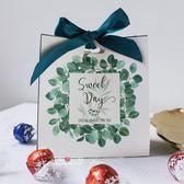 定制2019新款特惠20個戶外主題婚禮森系創意超大裝煙喜糖盒伴手禮盒【快速出貨】