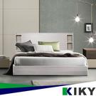 【床組】紫薇 雙人加大6尺床架 附插座收納型床頭片(床頭+床底 ) KIKY-床組 床架