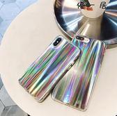 原宿復古鐳射iPhone手機殼全包軟殼