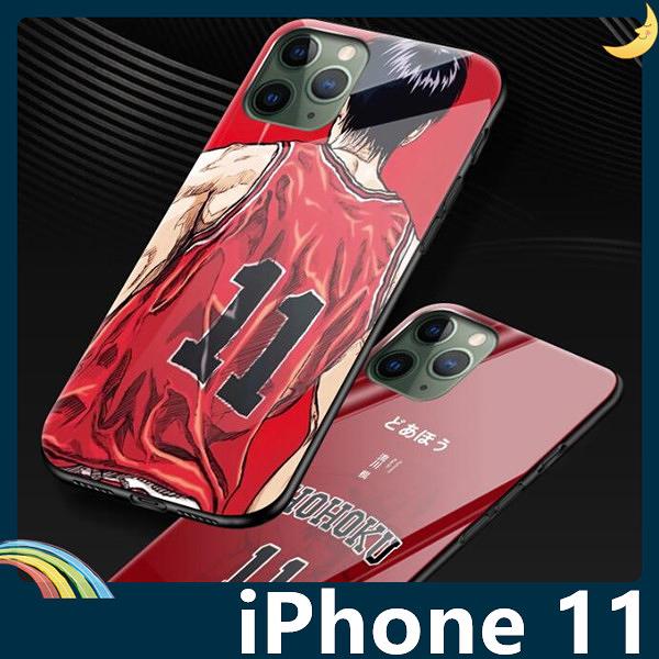 iPhone 11 Pro Max 灌籃高手保護套 軟殼 SLAM DUNK 防刮玻璃 軟邊全包款 手機套 手機殼