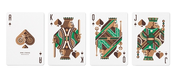 【USPCC撲克】DKNG Green Wheel Playing Cards (Limited Edition) by Art of Play