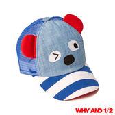 WHY AND 1/2 mini 俏皮普普熊棒球帽