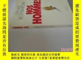 二手書博民逛書店法文原版罕見Nos hommesY7215 Denise Bombardier Seuil; Essais H