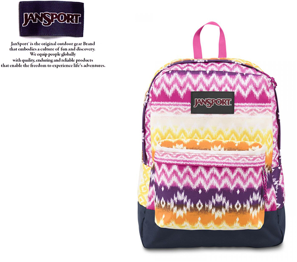 【橘子包包館】JANSPORT 後背包 BLACK LABEL SUPERBREAK JS-43520 彩色派對