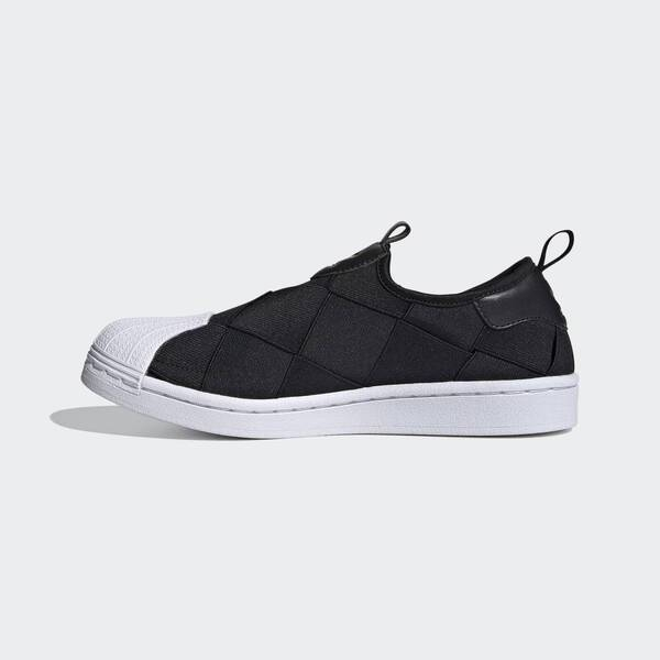 Adidas Superstar Slip On W [FV3187] 女鞋 運動 休閒 經典 貝殼 穿搭 愛迪達 黑