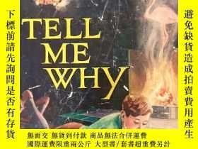 """二手書博民逛書店""""Wonder罕見Book of Tell Me Why""""《一萬個為什麽》 含有數百照片的老書Y259334"""