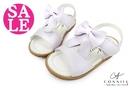 小童涼鞋 真皮吸汗 緞帶結 縫線 CONNIFE寶寶涼鞋 零碼出清 G6277#紫色◆OSOME奧森童鞋