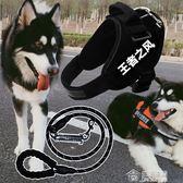 中型大型犬狗狗牽引繩金毛拉布拉多狗鍊子阿拉斯加背帶用品 免運 生活主義