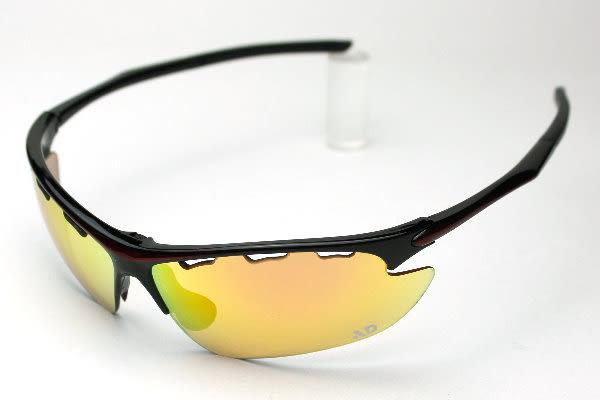AD科技鍍膜變色全視線功能鏡片運動太陽眼鏡~白天到夜晚一付搞定~全方位保護眼睛-Phoenix