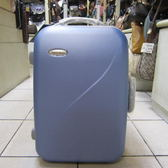 ~雪黛屋~Roberto 義大利 29吋硬殼行李拉桿箱360度旋轉大容量可登機ABS+PC超輕耐壓耐摔R-180 藍