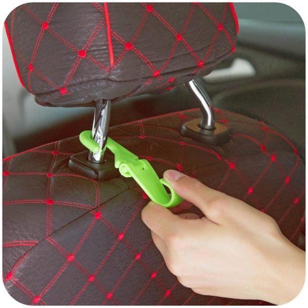 [超豐國際]車載椅背掛鉤創意汽車小用品 多功能車內座椅頭枕車用掛