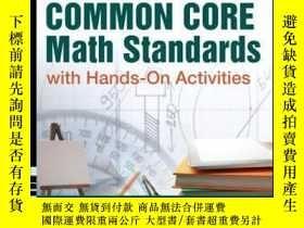 二手書博民逛書店Teaching罕見the Common Core Math Standards with Hands-On Ac