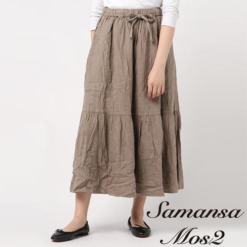 ❖ Autumn ❖ 分層式棉麻長裙 (提醒➯SM2僅單一尺寸) - Sm2