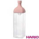 《HARIO》方形粉1200冷泡茶壺 KAB-120-SPR 1200ml