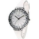 Epico 圓形系列斑馬紋潮流腕錶 EP-2ZEWHS