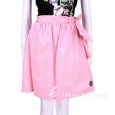 LOVE MOSCHINO 亮粉色綁帶設計及膝裙 1520478-13
