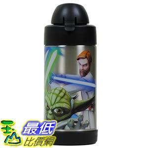 [美國直購] Thermos B00W8AAA28 Funtainer Star Wars Clone Wars 10 Oz Bottle with Yoda, Anakin 兒童保溫水壺