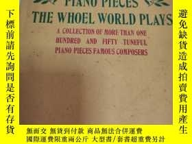 二手書博民逛書店英文書:CHILDREN罕見S PIANO PIECES THE WHOLE WORLD PLAYS(歌曲譜)