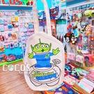 正版 迪士尼 玩具總動員 帆布手提袋 飲料提袋 收納袋 購物袋 插畫三眼怪款 COCOS DK280