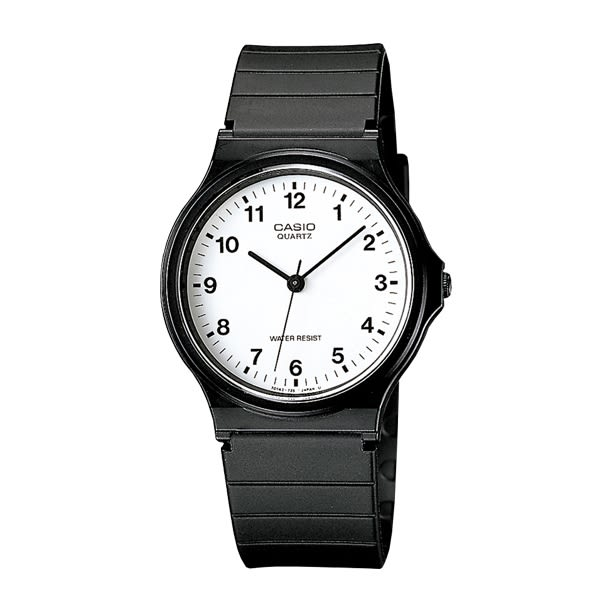 CASIO卡西歐 指針錶 MQ-24-7B 白面 數字時刻 35mm MQ-24-7BLDF 男/女/學生錶 數字錶 MQ-24-7B