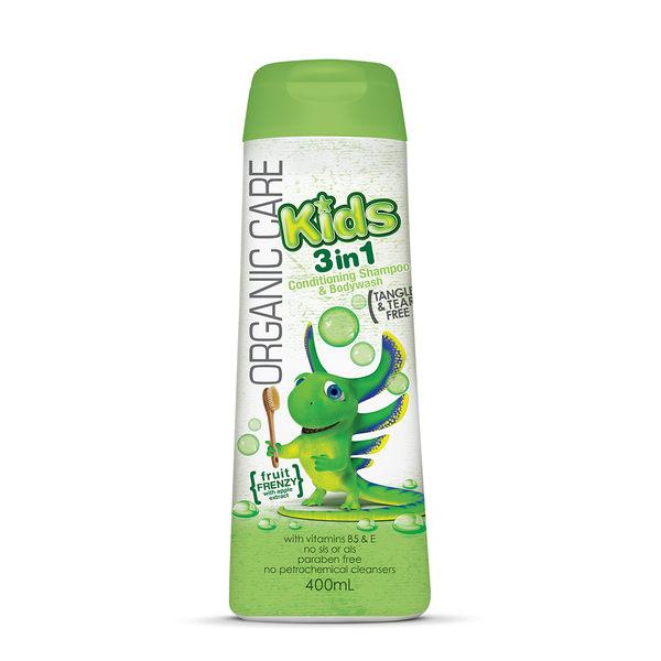 【澳洲Natures Organics】植粹兒童泡泡洗髮沐浴露(Frenzy)400ml