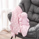 【出清$39元起】mino長耳兔蓋毯組-生活工場