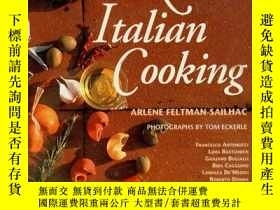 二手書博民逛書店Rustic罕見Italian Cooking (De Gustibus Presents the Great C