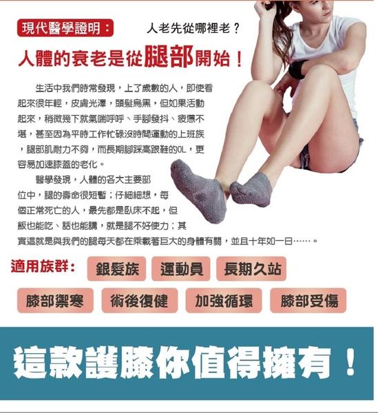 【京美】 能量銀纖維長效護膝(健膝神器)(一雙/盒)-電電購