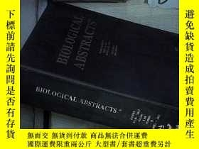 二手書博民逛書店BIOLOGICAL罕見ABSTRACTS VOLUME 110 NUMBER 5 2003 生物學文摘第110卷