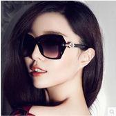 現貨-范冰冰女太陽鏡菱形裝飾方框墨鏡男女士歐美明星款遮陽眼鏡基本款流行夏天必備13