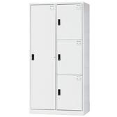 【時尚屋】HDF多用途3x6尺鋼製4格置物櫃(免組裝)(免運費)(台灣製)
