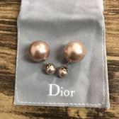 ■專櫃74折■2019新品■Dior Tribales 粉紅珍珠耳環