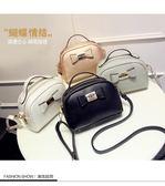 全館85折韓版時尚學生簡約黑色百搭手提側背包女士小包包 東京衣櫃