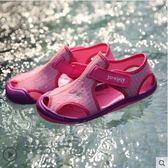 女童涼鞋夏季兒童透氣沙灘包頭涼鞋軟底鞋子 全館免運