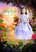 兒童服裝cosplay冰雪奇緣舞會演出服女童蘇菲亞公主裙