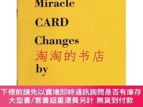 二手書博民逛書店Miracle罕見CARD Changes by Edward MarloY473414 Edward Mar