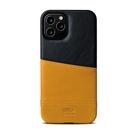 Alto iPhone 12 / 12 Pro 通用款 真皮手機殼背蓋 6.1吋 Metro - 焦糖棕/渡鴉黑【可加購客製雷雕】