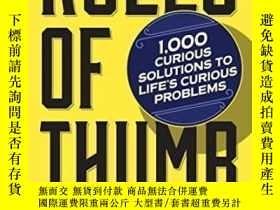 二手書博民逛書店Rules罕見Of Thumb-經驗法則Y436638 Tom Parker Workman Publishi