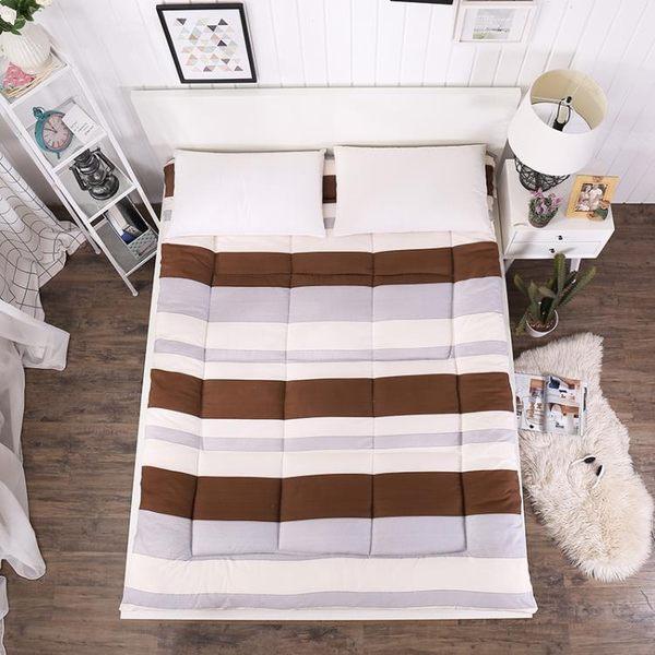 加厚1.8米榻榻米床墊學生宿舍床褥0.9米1.0m單人床 Chic七色堇