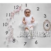 攝影布兒童拍照背景布寶寶創意月份攝影道具毯子新生兒攝影服飾wy