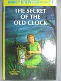 【書寶二手書T8/原文小說_HCF】The secret of the old clock_Keene, Carolyn