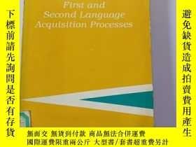 二手書博民逛書店First罕見and Second Language Acqui