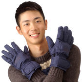 Snow Travel 雪之旅 AR-01深藍 羽毛防水手套 保暖手套 防風手套 滑雪手套 雪地手套 羽絨手套